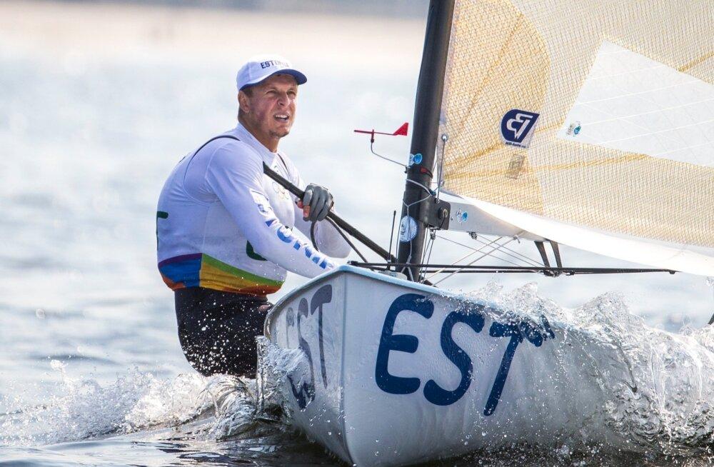 Rio de Janeiro olümpia purjetamise teine päev