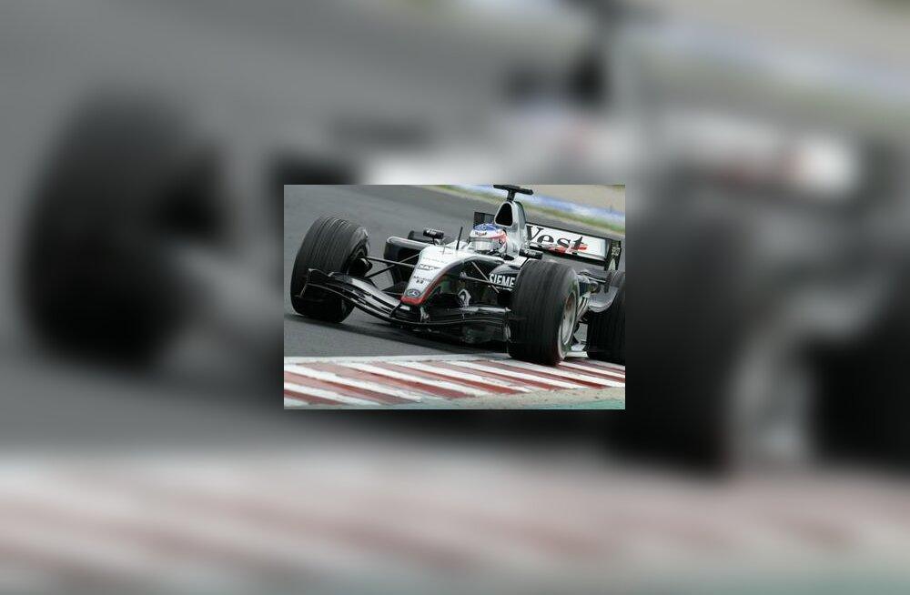 Kimi Räikkönen Ungari GP-l