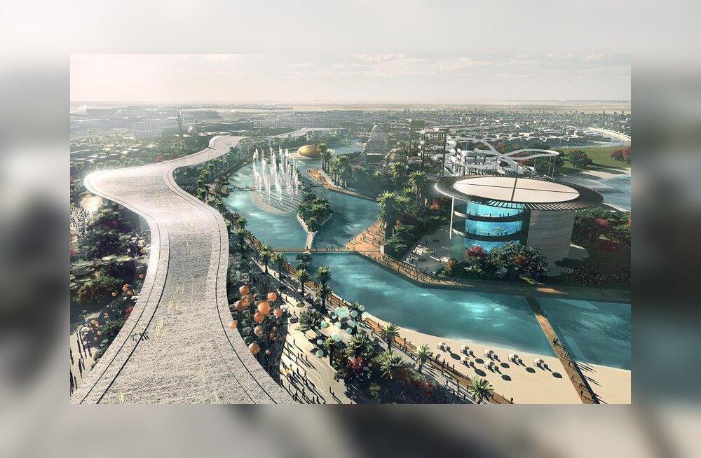 Dubaisse ehitatakse maailma suurim tehislaguun