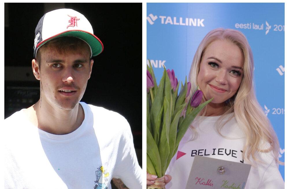 KLÕPS | Iga fänni unistus: Eesti Laulu finalisti Kadiahi armsa video katkestas Justin Bieber isiklikult