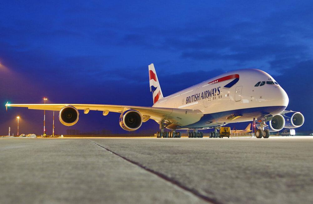British Airways viis 87aastase naise püksitegemiseni