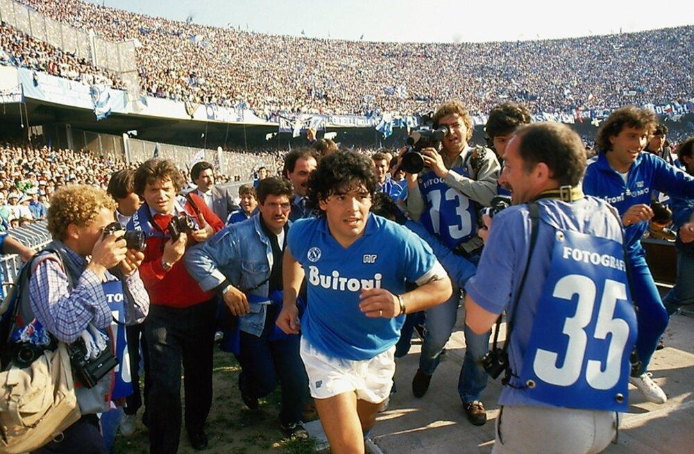 Diego Maradonat käisid Napolis vaatamas ikka ja alati suured rahvahulgad.