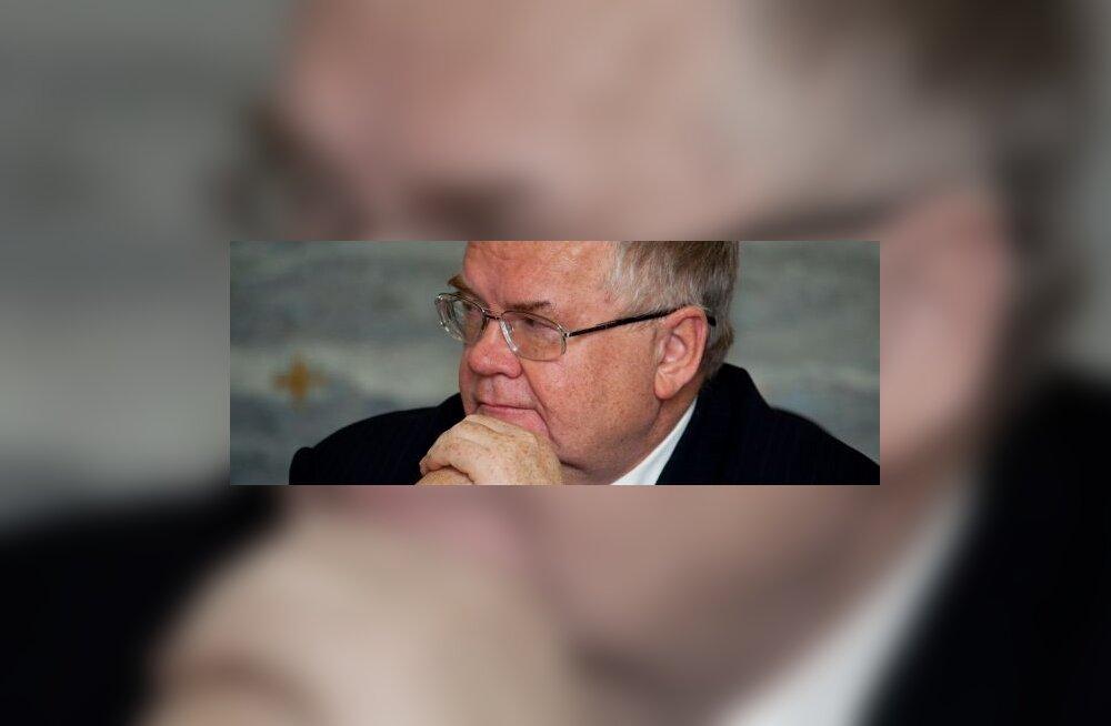Сависаар: крона может обвалиться 18 октября
