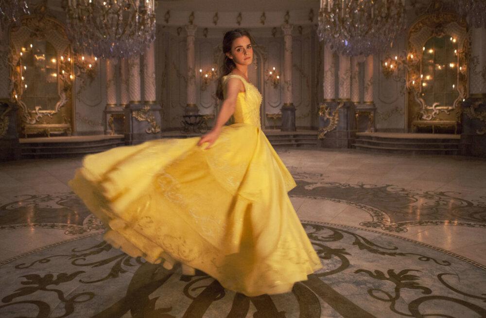 """PILDID: Disney """"Kaunitarist ja koletisest"""" inspireeritud muinasjutulised pulmad"""