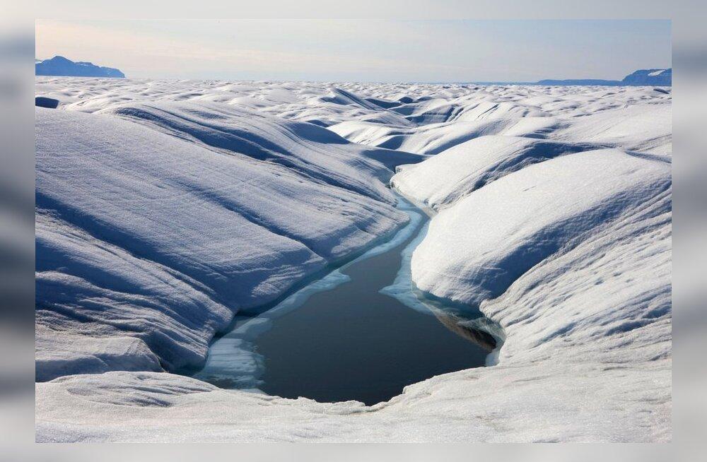 Arktilise jää sulamine lisab atmosfääri ürgset metaani