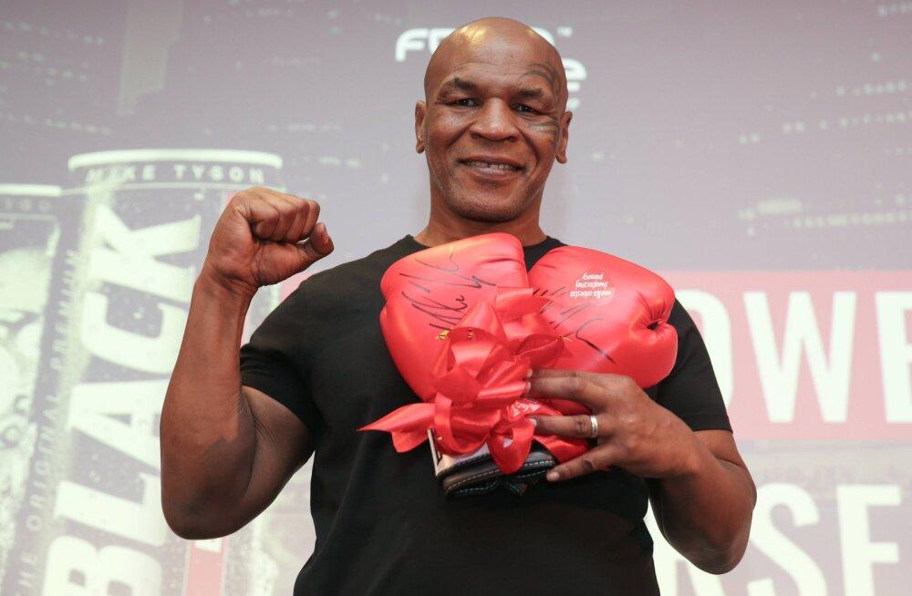 Keegi saab hammustada: Mike Tyson hakkab poksima ehtsa mõrtsukhaiga