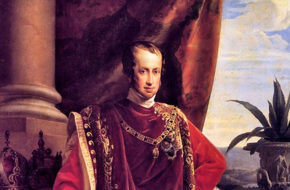 Ferdinand I: ullike võimsa Austria troonil, kes armastas end paberkorvis ringi veeretada