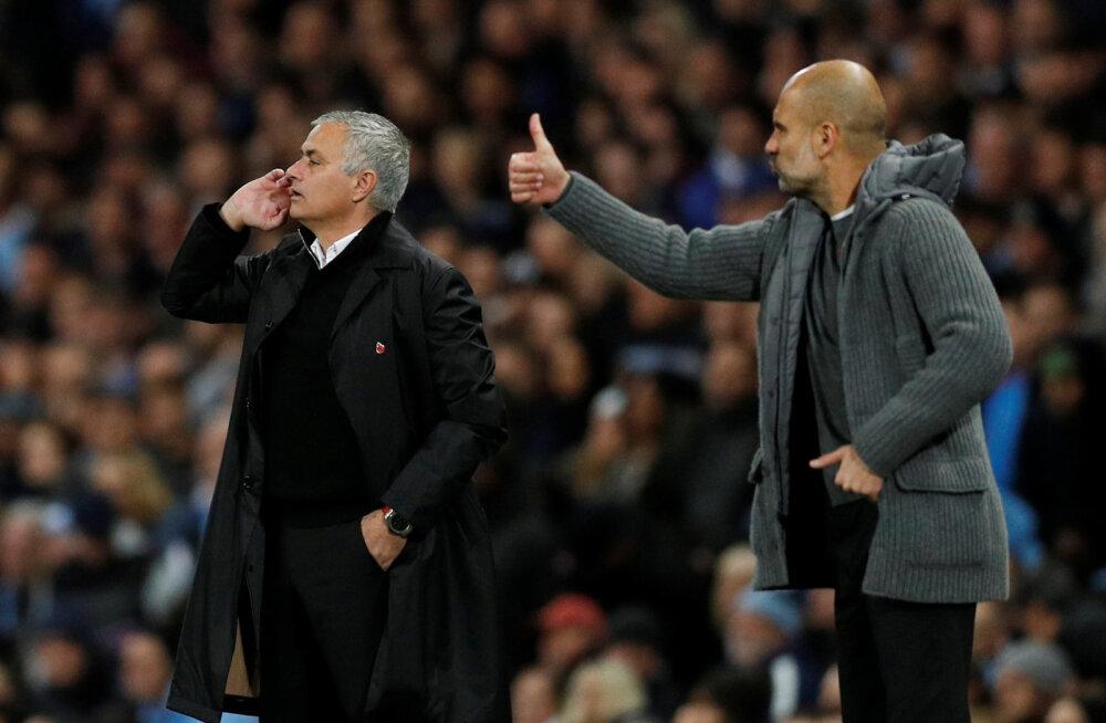 Pep Guardiola ületas Jose Mourinho rekordi ja tegi Premier League'i ajalugu