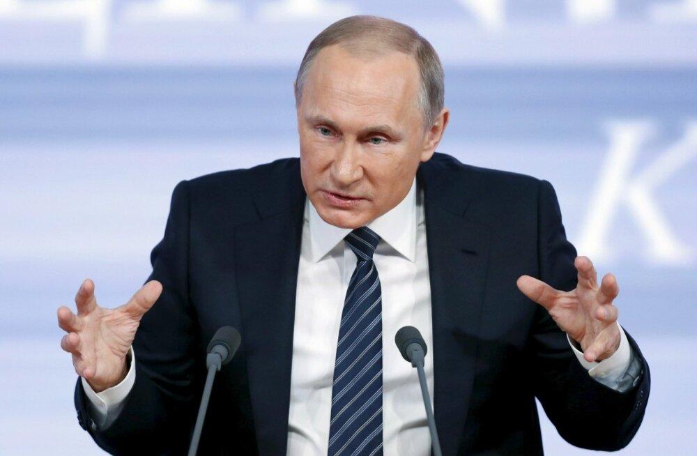 """VIDEOD ja FOTOD: Vladimir Putin: Türgi püüdis USA-le ja Euroopa Liidule näidata, et nad on """"oma islamistid"""""""