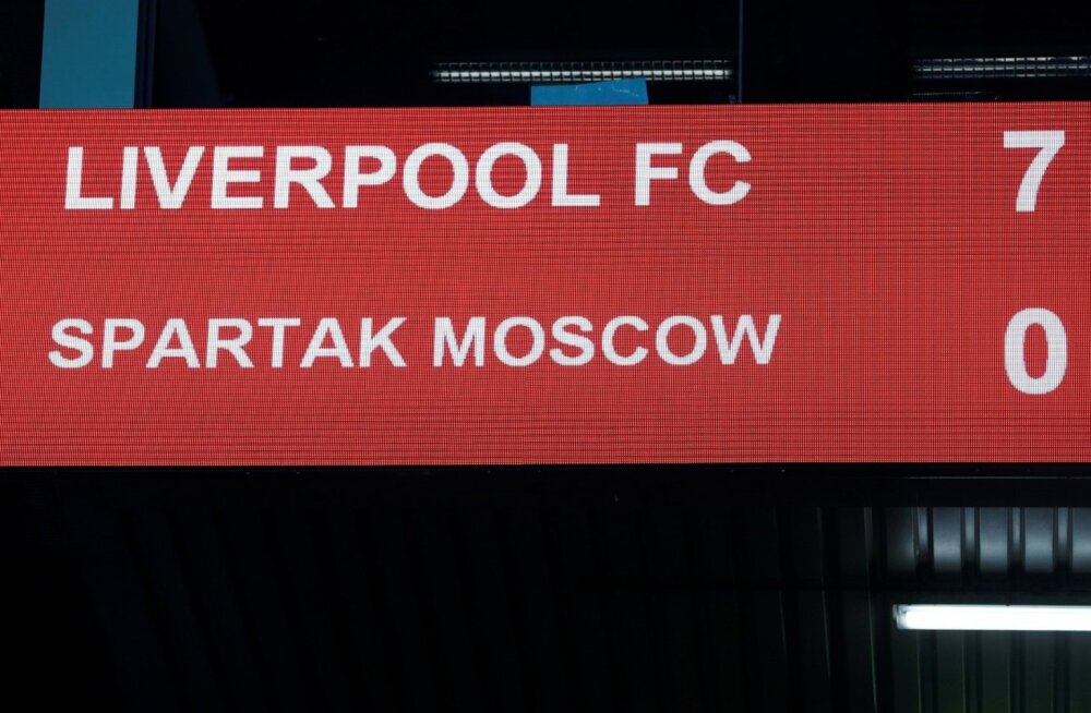Liverpool vs Spartak
