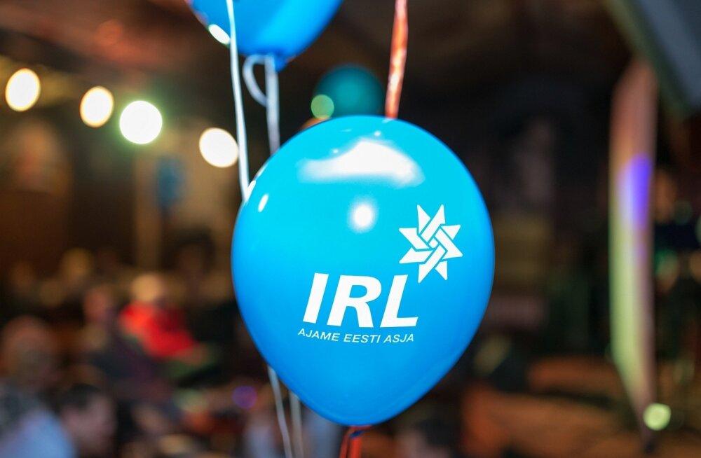IRL valimispidu Tartus