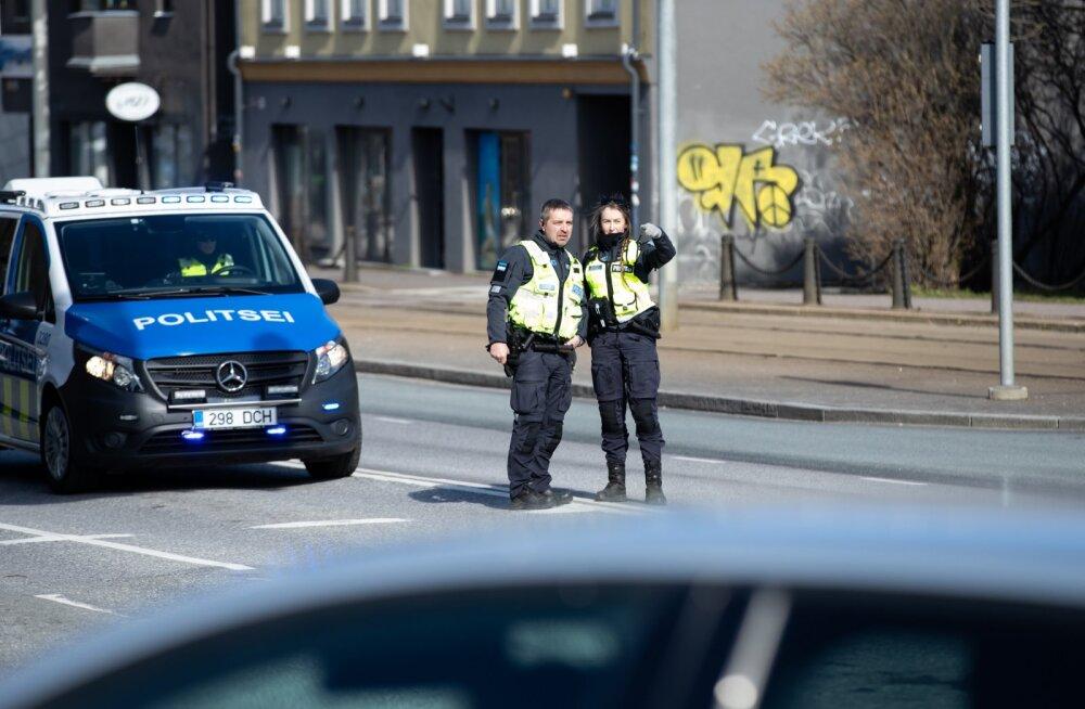 Avarii Tartu maantee ja Türnpu tänava ristmikul