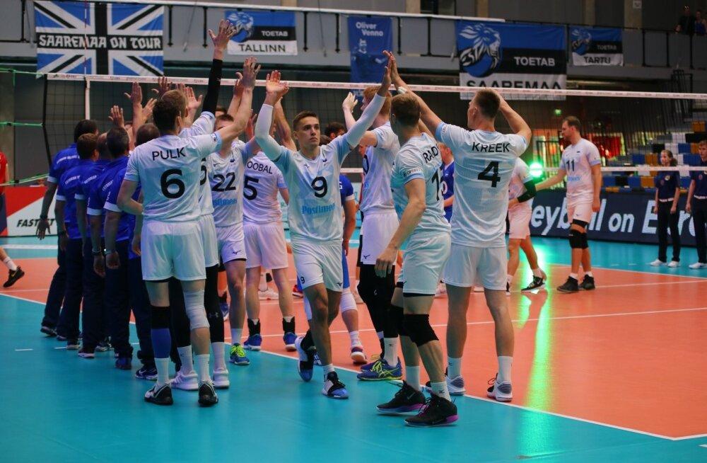 Eesti võrkpallikoondis on Kuldliigas saanud kaks võitu ja kaks kaotust.