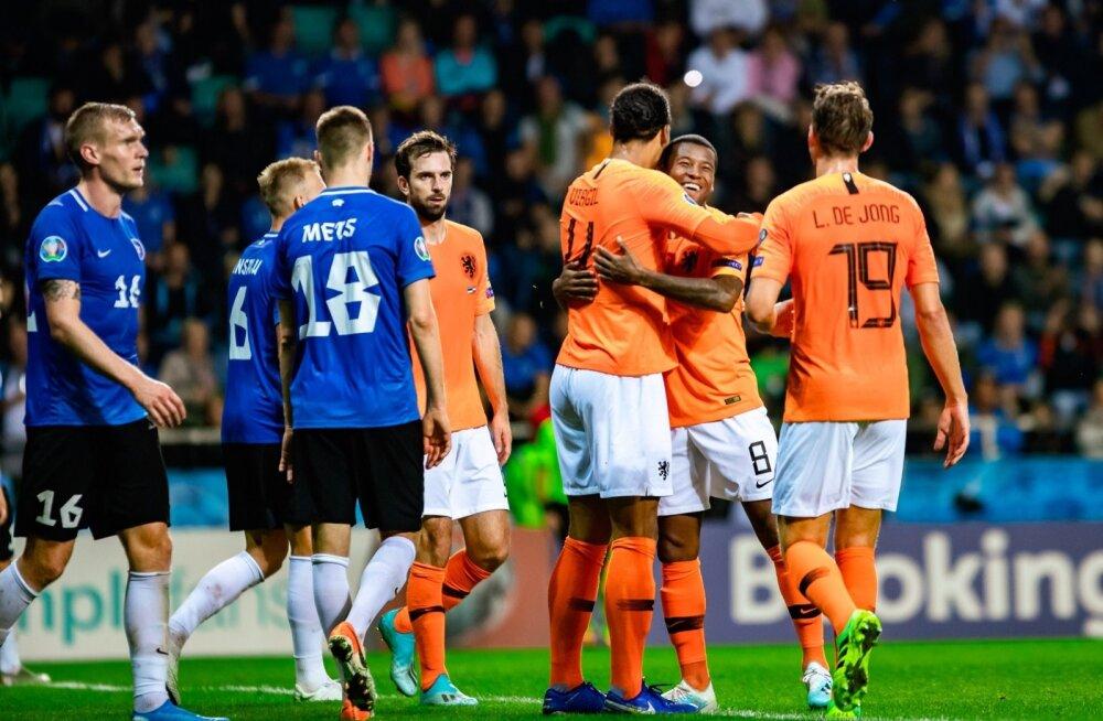 Eesti vs Holland jalgpall