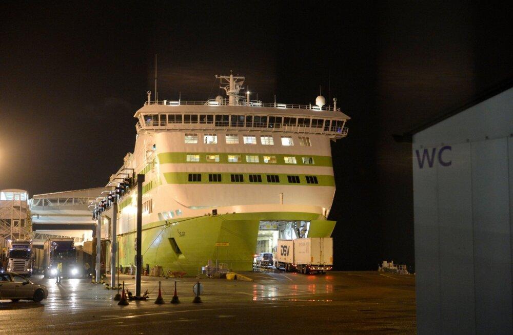 Kaubad liikuma. Tallinki laev alustab homme ajutiselt Eesti ja Saksamaa vahel opereerimist