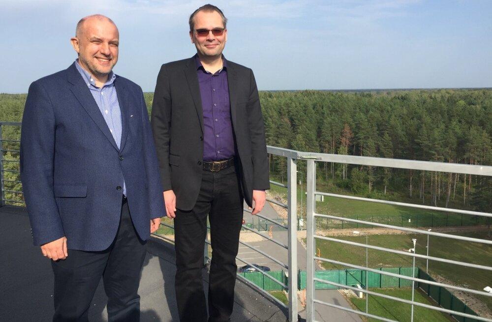 Jüri Luik ja Jussi Niinistö