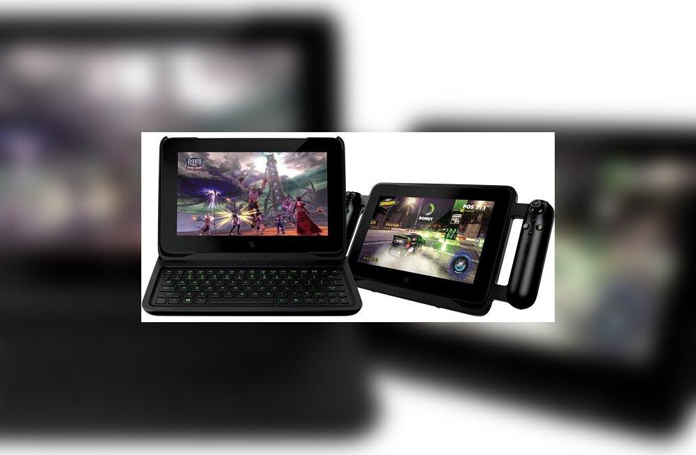 Razer Edge Pro: ühtaegu tahvelarvuti, PC ja mängukonsool!