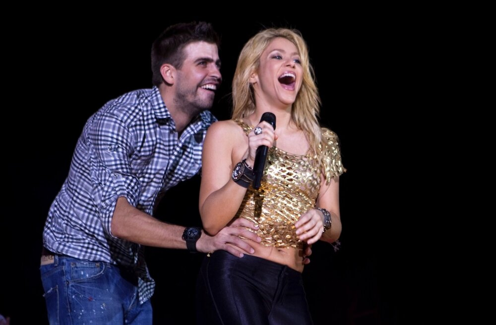 Gerard Pique ja Shakira