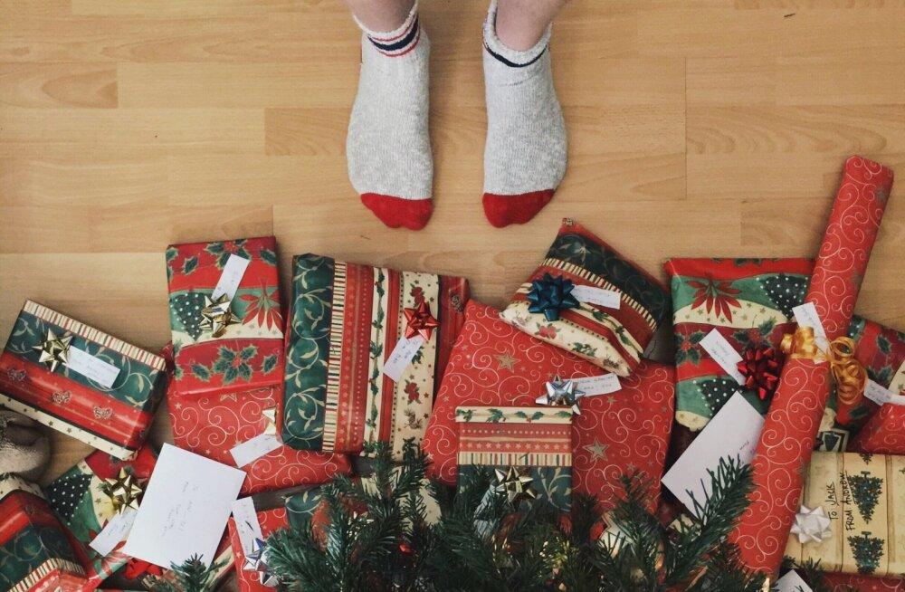 Tõde on selgunud: need on kõige hullemad jõulukingid ja sokid on nimekirjas alles viimasel kohal
