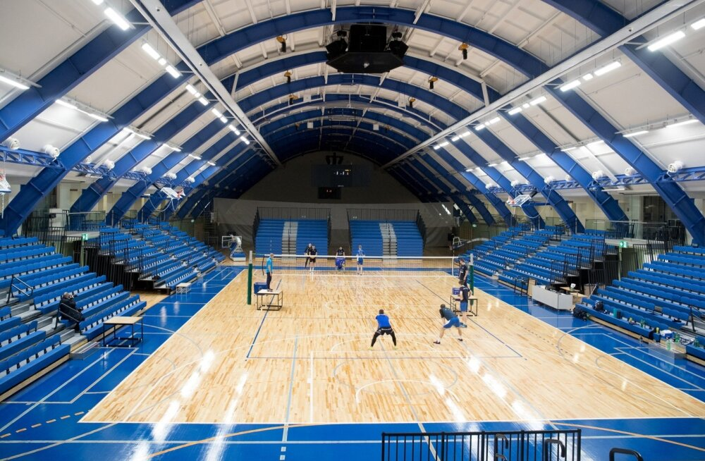 Renoveeritud Kalevi Spordihalli avamine