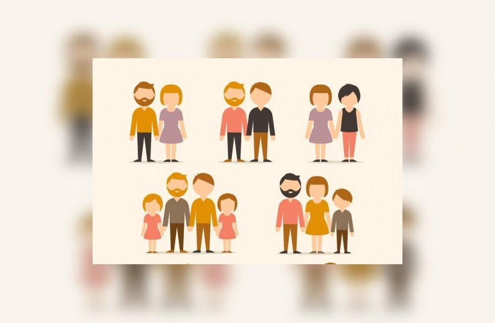 Perekonna teeb armastus, mitte koosseis: kust tuleb jultumus otsustada kellegi eest ära, et tema pere pole pere?