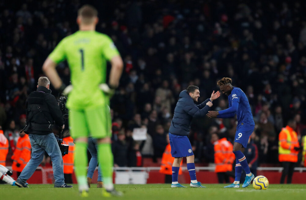 Arsenali väravavahi eksimus kinkis Chelseale magusa võidu