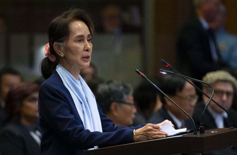Myanmari juht Suu Kyi tõrjus ÜRO kohtu ees rohingjade vastase genotsiidi süüdistusi