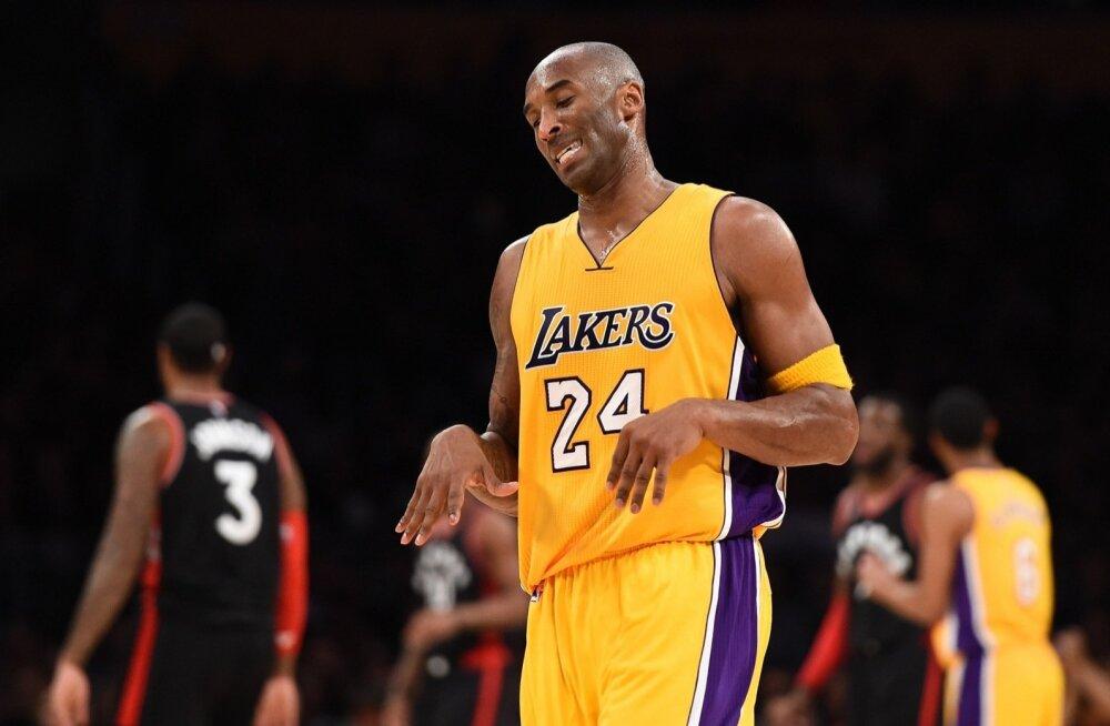 Kobe Bryant kohtumises Toronto Raptorsiga