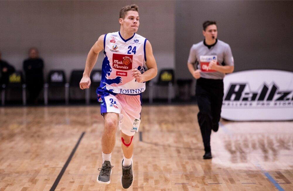 Egert Haller BC Valga-Valka/Maks&Moorits meeskonnas