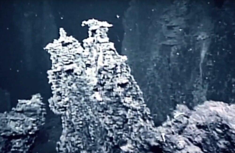 Geoloogiline põrgu Mariaani süviku hauatsoonis, maailmamere suurimates sügavustes