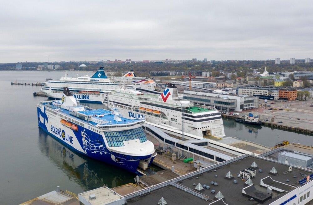Хельсинки начнет тестировать на COVID-19 прибывающих из Таллинна пассажиров прямо на паромах