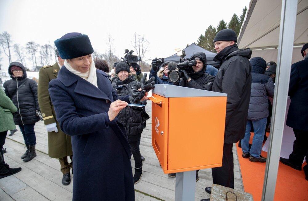 Presidendi tänauüritus kommunismiohvrite memoriaali juures Maarjamäel