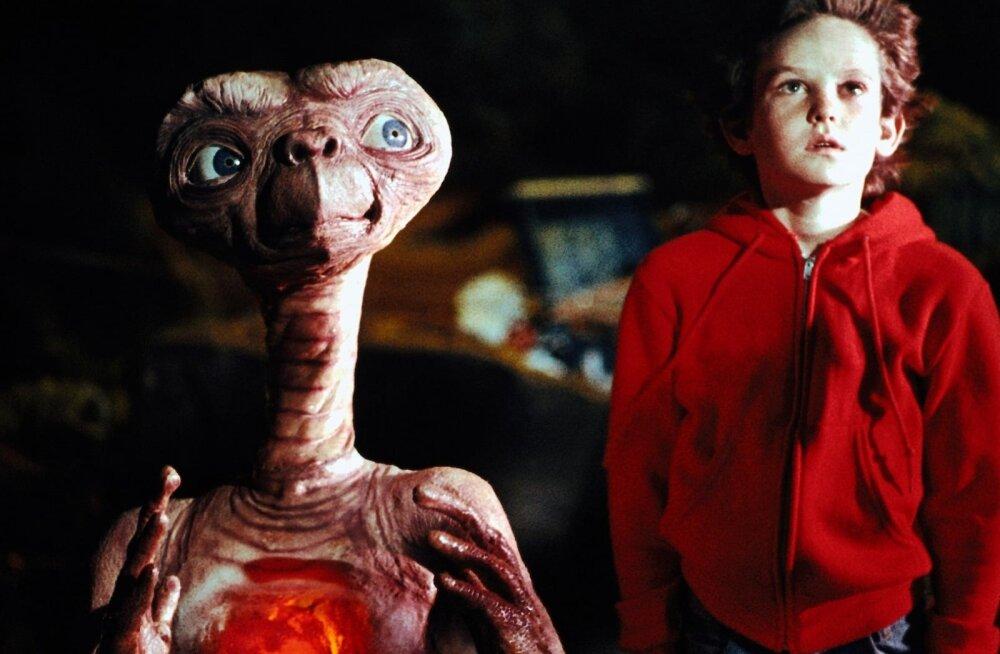 """10 maavälist fakti Steven Spielbergi legendaarse ulmefilmi """"E.T. – sõber kaugelt"""" kohta"""