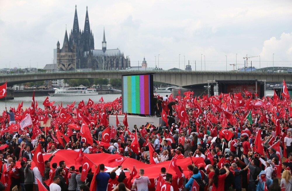 Millised meeleolud on suurema türgi diasporaaga Euroopa riikides?
