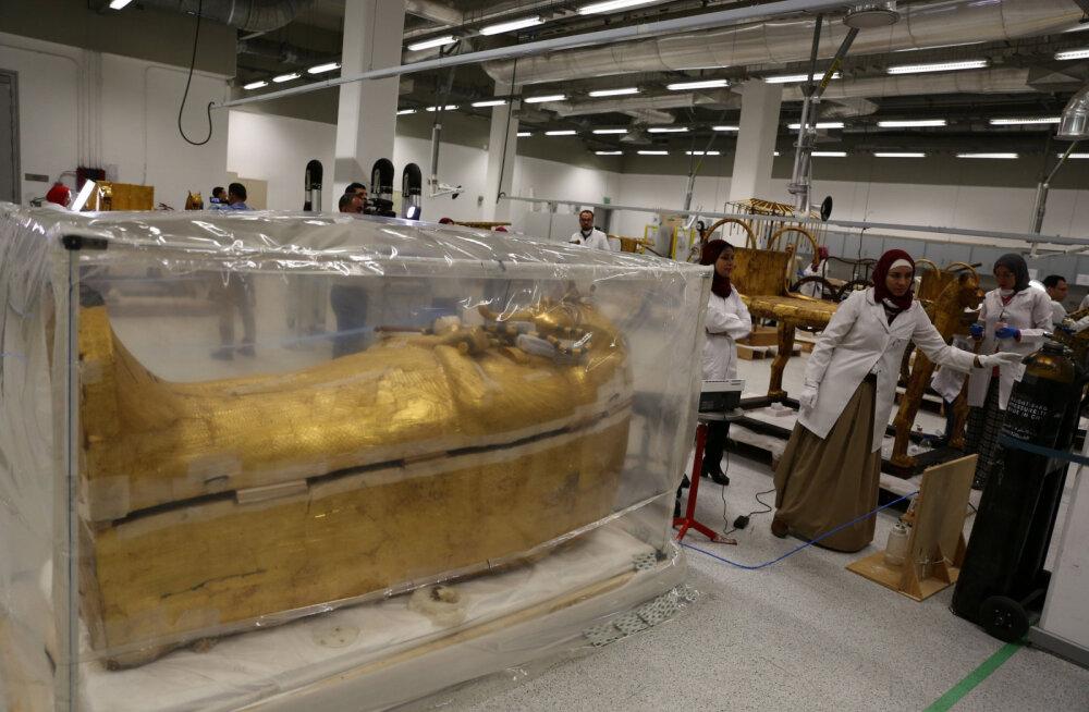 ВИДЕО: Прах Тутанхамона потревожили! Мумию окурят, а затем отправят в Большой египетский музей