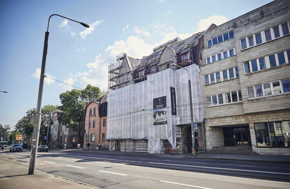 Avangardi eripära on väikesed, 12–44-ruutmeetrised korterid. Maja valmib sel sügisel.