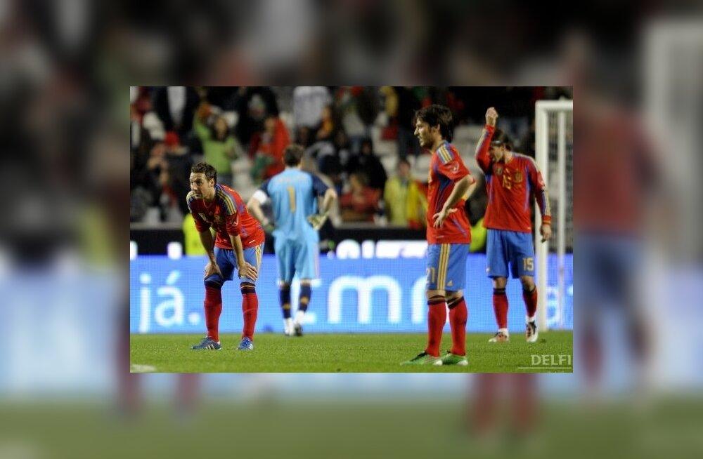 Hispaania jalgpallikoondise mängijad on nõutud
