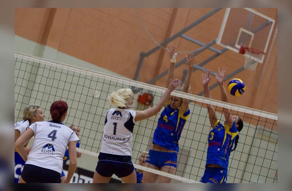 NÄDAL VÕRKPALLIS: Naiste ühismängud soomlastega