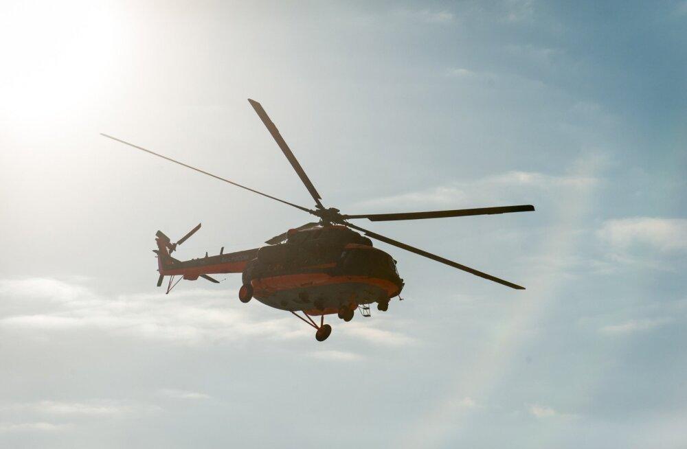 Gruusia teatel rikkus Vene helikopter tema õhupiiri