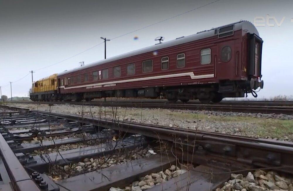 Спецтехника оценила состояние эстонских железных дорог: было только одно предупреждение