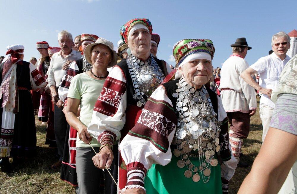 Seto kuningriigi päev 2013 Luhamaal
