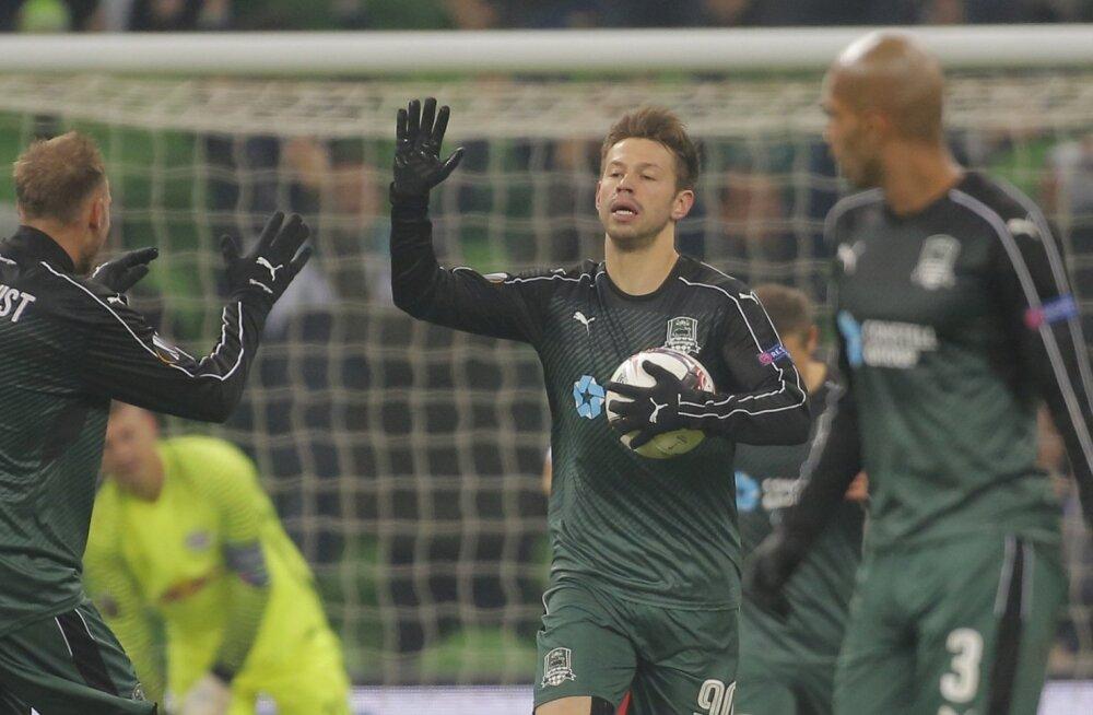 FC Krasnodar tuli välja lootusetust seisust