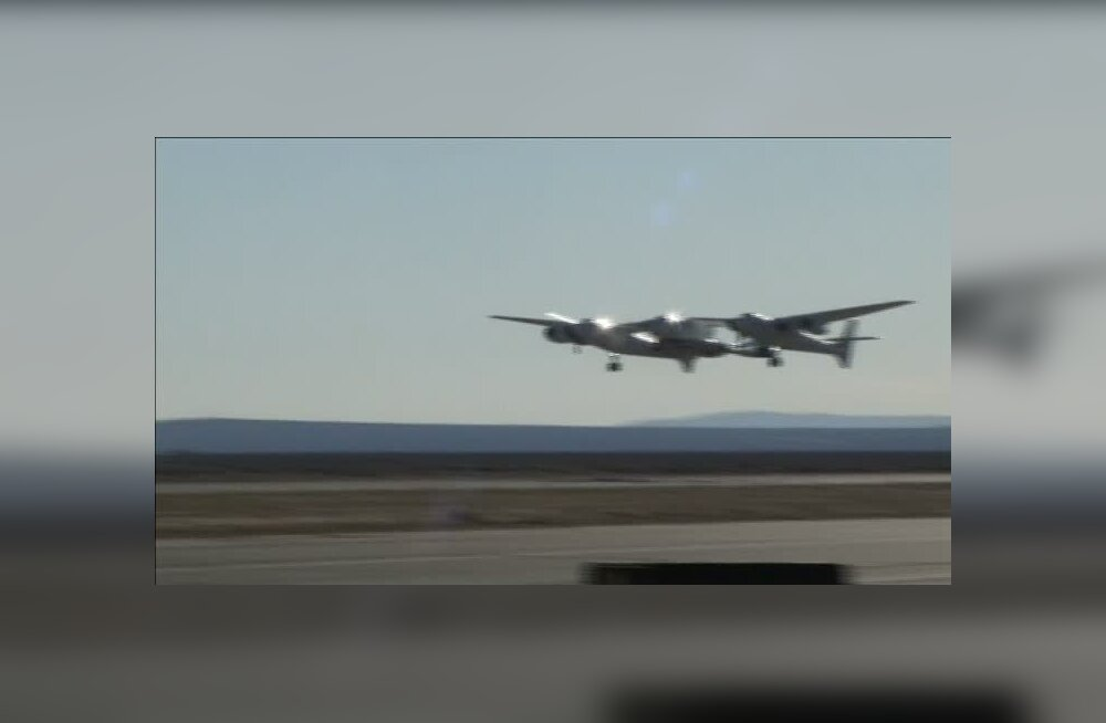 ФОТО и ВИДЕО: Самый большой самолет в мире совершил первый полет над пустыней в Калифорнии