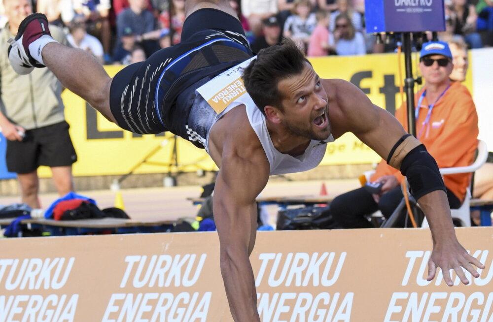Kolmest kolm! Magnus Kirt viskas Soomes taas suurepäraselt ja alistas kaks olümpiavõitjat