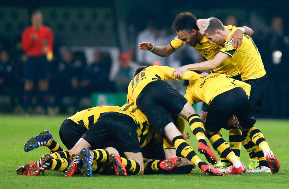 VIDEO: Sebastian Kehli iluvärav viis Dortmundi karika poolfinaali