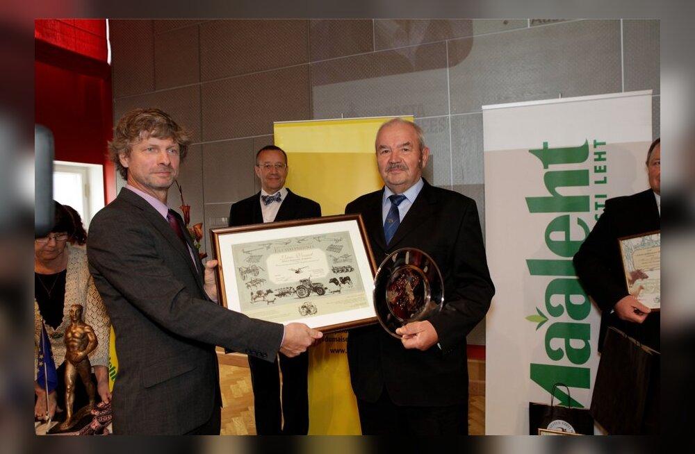 Aasta Põllumees 2013 konverents Riigikogu koverentsisaalis