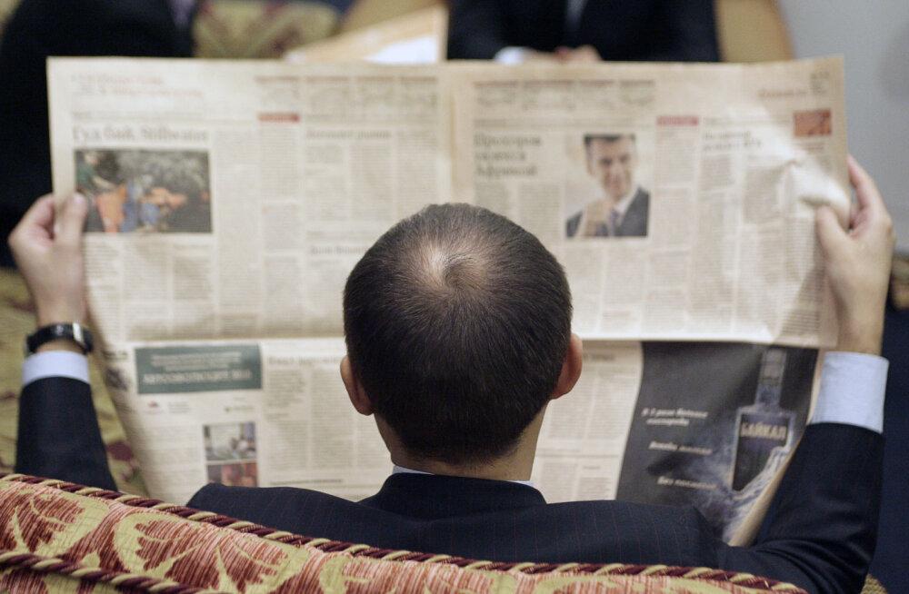 Kremli liitlase poolt ülevõetud ajalehe töötajad lahkuvad ametist