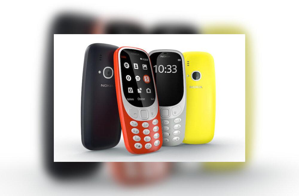 Nostalgiast ei piisa: Nokia ei saagi igal pool oma retrotelefoni 3310 müüa