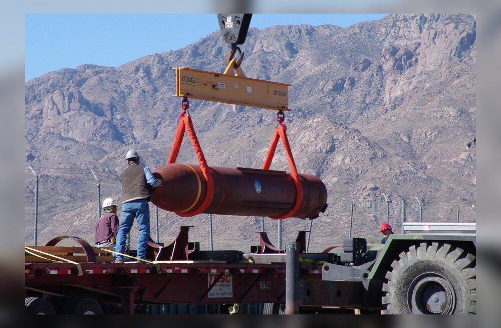 Kindral: USA võib Iraani vastu kasutada uut superpommi