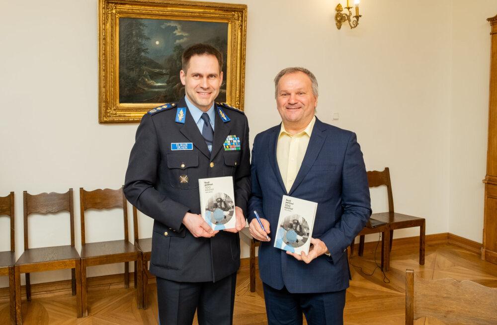 """В свет вышло произведение книжной серии ЭР100 """"100 лет полиции Эстонии"""""""